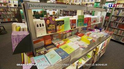 Grand format : le business des livres qui promettent le bonheur
