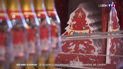 Grand format : le business gourmand des calendriers de l'Avent