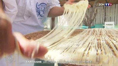 Grand Format : sur les traces des pâtes les plus rares du monde en Sardaigne