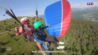 Grand frisson : on a testé le parapente acrobatique