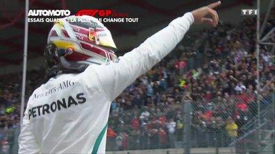 Grand Prix de Belgique : La pluie change tout en qualifs !