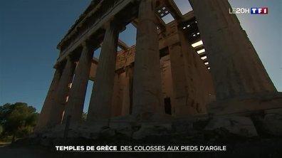 Grèce : le défi de la restauration des temples en péril