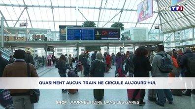 Grève à la SNCF : les voyageurs pris de court lors de ce samedi noir