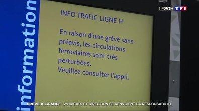 Grève à la SNCF : syndicats et direction se renvoient la responsabilité