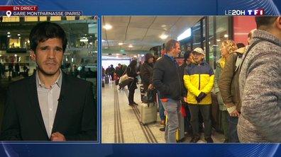 Grève à la SNCF : trois TGV sur dix sur les rails à la Gare Montparnasse ce lundi
