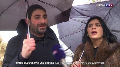 Grève contre la réforme des retraites : comment font les touristes à Paris
