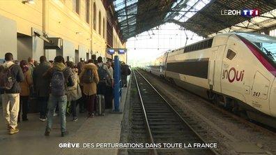 Grève dans les transports : lundi noir en régions