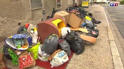 Grève des éboueurs à Castres : les déchets s'entassent