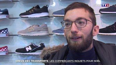 Grève des transports : les commerçants parisiens inquiets pour les fêtes