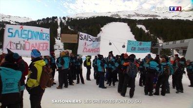 Grève inédite des saisonniers dans de nombreuses stations de ski de Haute-Savoie