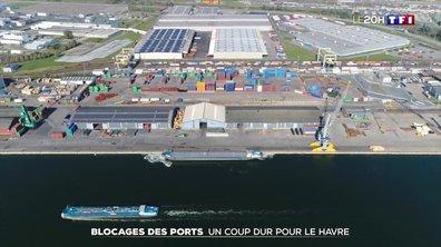 Grèves et blocages des ports : un coup dur pour Le Havre