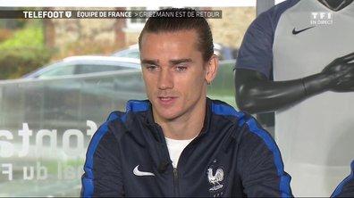 """[EXCLU Téléfoot 12/11] - Equipe de France / Griezmann : """"J'aime être libre sur un terrain"""""""
