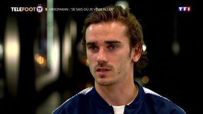 """Antoine Griezmann: """"Je sais où je veux aller"""""""