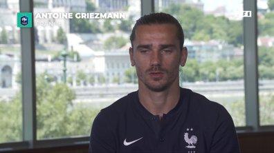 Antoine Griezmann «J'adore jouer pour l'équipe et tout donner»