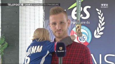 """[EXCLU Téléfoot 03/12] - Strasbourg / PSG (2-1) : """"C'est encore plus beau quand on sait d'où on vient"""""""