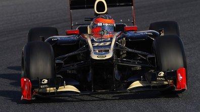 F1 - essais Barcelone 2012 : Grosjean le plus rapide