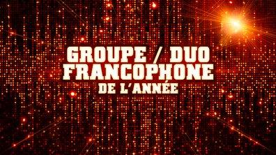 Groupe / Duo Francophone de l'année - Pré-nominations - NRJ Music Awards 2013