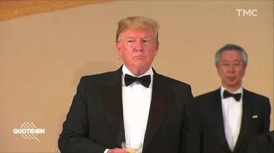Grumpy Trump était au Japon