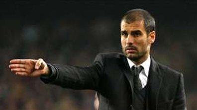 Guardiola reste d'attaque