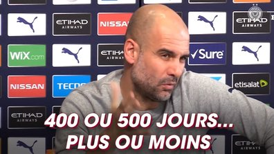 """Guardiola : """"La solution serait de faire des années de 400 jours"""""""