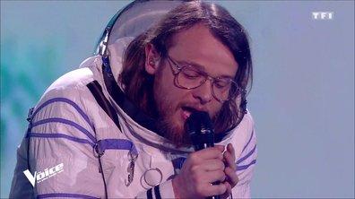 Guillaume chante en direct... depuis l'espace ! Revivez son incroyable prestation