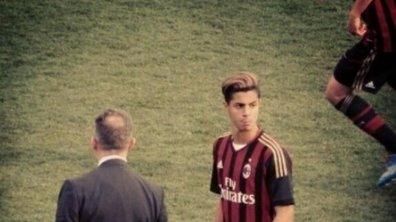 AC Milan : Le jeune prodige Hachim Mastour efface plusieurs adversaires avant d'offrir une passe décisive
