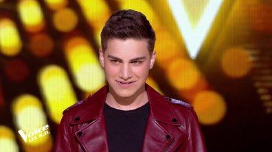 """The Voice 2020 - KO PASCAL OBISPO : Hakob chante """"Vivre pour le meilleur"""" de Johnny Hallyday"""