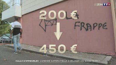 Halls d'immeubles : l'amende suffira-t-elle à déloger les squatteurs ?