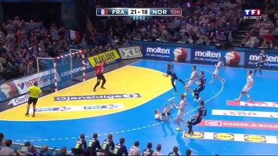 France-Norvège : Michaël Guigou offre quatre longueurs d'avance aux Bleus