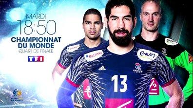 Evènement : Suivez le quart de finale France-Suède sur TF1