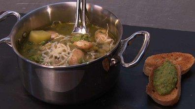 31/03 - Soupe provençale aux haricots de Soisson