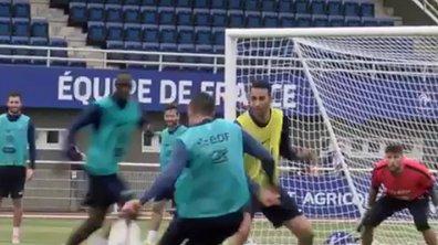Vidéo Equipe de France : Hatem Ben Arfa marque une nouvelle merveille à l'entraînement