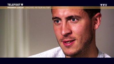 """[Exclu Téléfoot 16/04] - Hazard : """"Mon futur ? J'ai un contrat jusqu'en 2020, je suis bien à Chelsea"""""""