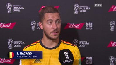 "Hazard : ""On savait que si on marquait vite, le match serait plus facile"""