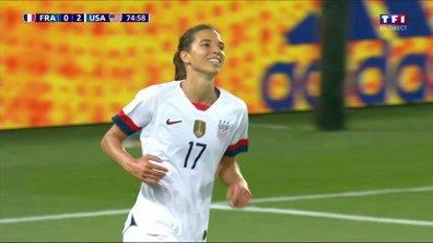 France - USA (0 - 2) : Voir le but refusé de Heath en vidéo