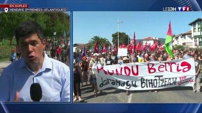 Hendaye : la manifestation anti-G7 s'est déroulée sans encombre