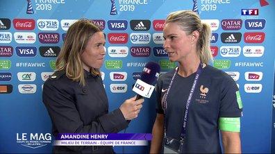 """France - Amandine Henry : """"On ne peut pas rêver mieux"""""""