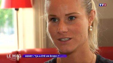 """Amandine Henry (équipe de France) : """"Ca a été un échec"""""""