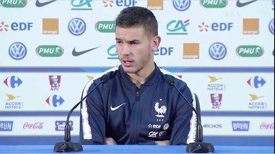 """Lucas Hernandez : """"Il nous reste deux matches pour être champion du monde"""""""
