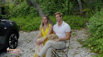 """Hillary et Giovanni en plein tournage des """"Plus belles vacances"""""""