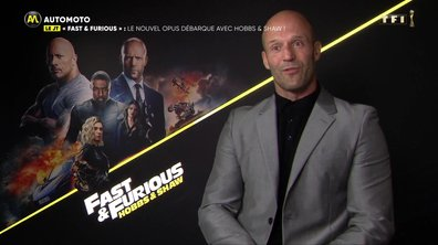 Fast & Furious : Hobbs & Shaw - Jason Statham et Idris Elba dans Automoto