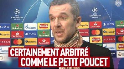 """VIDEO - """"L'homme du match, c'est l'arbitre"""""""