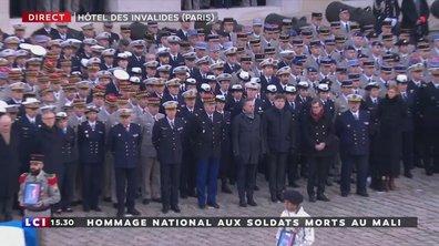 Hommage 14 - E.Macron