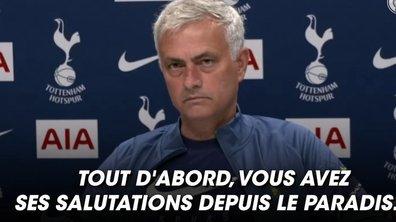 VIDEO - Le magnifique geste de Mourinho pour un journaliste