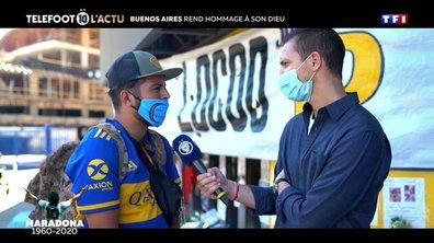 Buenos Aires rend hommage à son Dieu