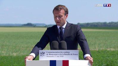 """Hommage à Charles de Gaulle : Emmanuel Macron célèbre """"l'esprit français"""" à Montcornet"""