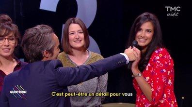 L'équipe de Quotidien chante France Gall