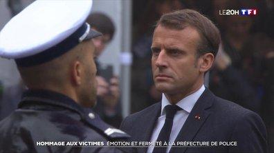 Hommage aux policiers tués à la préfecture de police de Paris : les temps forts de la cérémonie