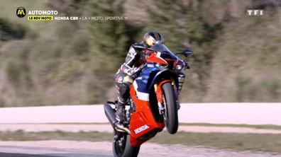 Essai : nouvelle Honda CBR, un monstre de performance