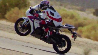 Vidéo : la nouvelle Honda CBR1000RR Fireblade 2012